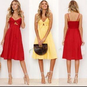 Dresses & Skirts - Size large summer dress